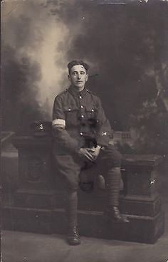 WW1 Young Pte & Signaller serving with the Royal West Kent Regiment in France