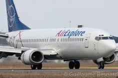Boeing 737-400 Air Explore OM-AEX cn 25178/2199