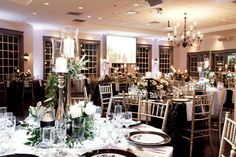The Doctor's House in Kleinburg - beautiful modern romantic wedding venue in the Toronto area. Wedding Venues Toronto, Best Wedding Venues, Wedding Themes, Wedding Decorations, Table Decorations, Wedding Ideas, Beautiful Wedding Venues, Modern Romance, House Doctor