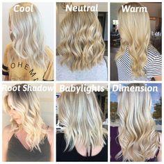 Blonde Hair Shades, Blonde Hair Looks, Blonde Hair With Highlights, Brown Blonde Hair, Platinum Blonde Hair, Golden Highlights, Toning Blonde Hair, Gray Hair, Blonde Hair For Cool Skin Tones