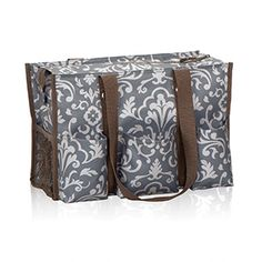 Zip-Top Organizing Utility Tote get a container that fits inside to hold file folders.
