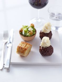 Mini Italian Dinner including Caesar Salad, Spaghetti & Meatballs and Garlic Bread by Peter Callahan