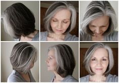 Another great way to transition into grey. Large blocks on grey to pave the way.