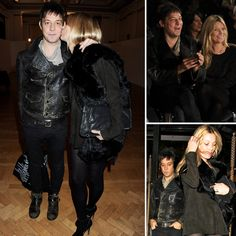 Kate Moss and Jamie Hince Wrap Up London Fashion Week With a Kiss - www.popsugar.com