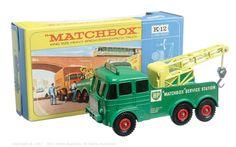 "Matchbox Kingsize No.K12 Foden Breakdown Tractor ""BP Matchbox Service Station"""