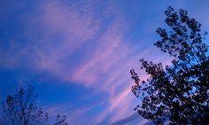Vermont evening sky