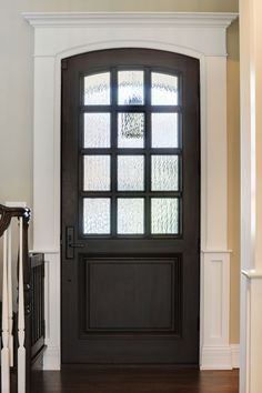 Custom Wood Front Entry Doors | Custom Solid Mahogany Wood Door  DB-012WA - Glenview Doors - Custom Doors in Chicago
