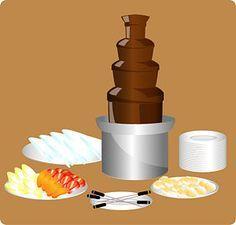 Use a Chocolate Fountain