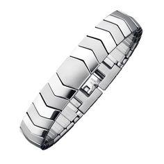 """Scoprite le proprietà positive di acciaio inossidabile, rame e magneti al neodimio nell'elegante bracciale Serpenti in acciaio inossidabile """"largo"""" di MAGNETIX Wellness. L'acciaio inossidabile rende il bracciale Serpenti in acciaio inossidabile """"largo"""" particolarmente facile da pulire, il rame produce un effetto antibatterico e i magneti extra forti emanano forza e gioia di vivere: constatatelo voi stessi!  https://maddy.magnetix-wellness.com/it/"""