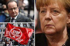 'We've had ENOUGH Merkel' Rest of Europe gangs up on Germany over crippling EU austerity