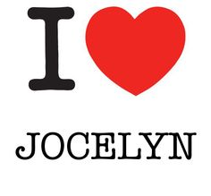 I Heart Jocelyn #love #heart