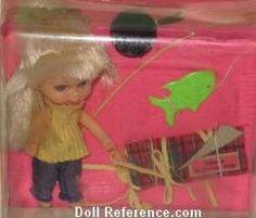 Mattel Little Kiddle 3753 Kampy Kiddle doll 1968