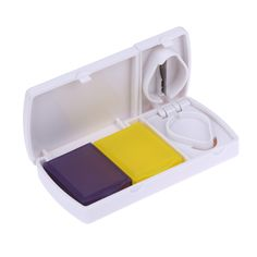 New Design Portable Pill Splitter With Cutter Tool Medicine Storage Compartment Box Case Holder For Home Personal Medical Use AARP -- AliExpress Affiliate's Pin.  Click the VISIT button to enter the AliExpress website