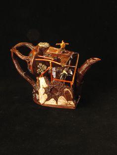 Richard Stratton, Hieronymus Bosch's Pot, 2013 Hieronymus Bosch, Tea Pots, Ceramics, Random, Tableware, Rompers, Ceramica, Pottery, Dinnerware
