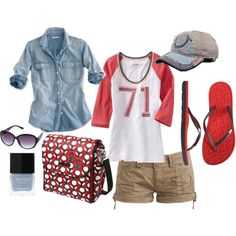 Any of my MOPS Friendly sets includes a diaper bag. Join my group Fun Family Fashion! Cool Outfits, Summer Outfits, Fashion Outfits, Fasion, Dress For Success, New Wardrobe, Sport Fashion, Get Dressed, What To Wear
