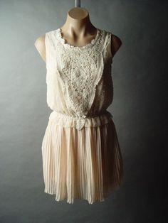Ivory Chiffon Romantic Pleated Skirt Elegant Twofer Dance Mini fp Dress S Chiffon Dress, Pleated Skirt, Accordion Skirt, Ivory, Bridesmaid, Romantic, Dance, Elegant, My Style