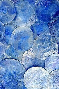 Photo about Mother of pearl blue round circle pattern texture. Image of circle, jewelery, nacre - 17379132 Periwinkle Blue, Blue Green, Blue And White, Color Blue, Cerulean, Blue Art, Blue Berry, Cobalt Blue, Dark Blue