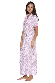 Buy Mauve Cotton Long Gown Online from our exquisite designs at Private Lives. Private Lives is a fast growing brand of Intimate apparels. We pride ourselves with the collections suited to the needs of every Indian woman complete with world class styling. The collections are designed by the design team whose goal is to develop collections that include well-balanced basics as well as fashionable sleep wear. Very special attention to detail is given to the materials used for Private Lives…