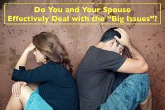 Do you stay clear of confrontation with your spouse? Do you skirt around when it comes to talking about the heavy, touchy topics, the dreaded…Big Issues!! Learn one way to start talking about them in your marriage.