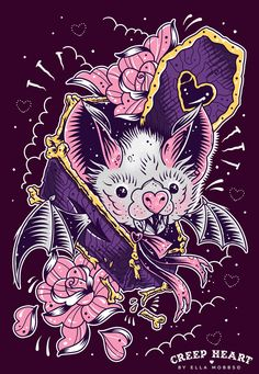 Batty Coffin, Ella Mobbs I wouldn't get it but it's an awesome tattoo!