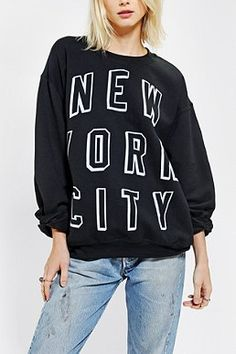 Shop Junk Food MTV Neon Light Crew-Neck Sweatshirt at Urban Outfitters today. We carry all the latest styles, colors and brands for you to choose from right here. Coco Fashion, Urban Fashion, Fashion Brands, Pretty Girl Swag, Sporty Girls, Skirt Fashion, Lounge Wear, Urban Outfitters, Style Me