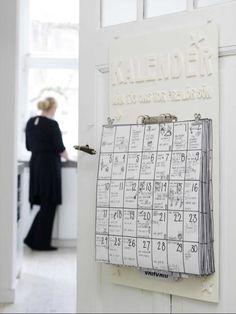 Un calendario hecho a mano | Bueno, bonito y barato