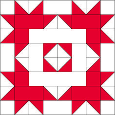 Sewing Block Quilts Block 14 for the 2017 Christmas Countdown. - Block 14 for the 2017 Christmas Countdown. Quilt Square Patterns, Barn Quilt Patterns, Pattern Blocks, Christmas Blocks, Christmas Quilt Patterns, Christmas Quilting, Christmas Tables, Half Square Triangle Quilts, Square Quilt