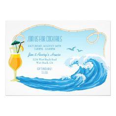 Nautical Beach Theme Summer Cocktail party