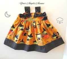 Girls Toddler Baby Halloween Gwendolyn Goodwitch Witch Knot Dress Sizes 6 Months to Girls Size 6