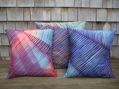 Cape Cod Shibori pillows