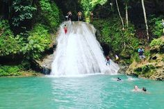Blue Hole Jamaica otherwise known as the Irie Blue Hole or the Secret Falls is…