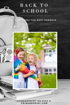 We have rounded up 12 First Day of School Ideas for busy parents and kids with those first day jitters.  The 1st day of school might look different this year but the celebrations continue. Help your kids go back to school in style. We have some Back to School Fun and First Day of School Inspiration you'll want to make a yearly tradition.  #firstdayofschooltraditions #backtoschool #familytraditions #backtoschoolparty #backtoschoolideas #firstdayofschool #firstdayofschoolideas #familyfun #kids