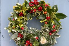 Discover how to make a classic Christmas wreath from plants like holly, ivy and crab apples in this step-by-step project, from BBC Gardeners' World Magazine.