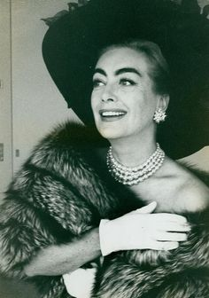 Joan Crawford by Eve Arnold