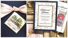 Obsessed with these handpainted invitations...my mom's best friend is hand painting mine ;)