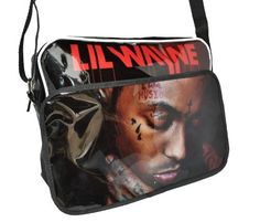 Postman Bag Lil Wayne Tear Drop Hip Hop (PB28) by Bags. $21.99. 34 x 23 x 9.5cm. Great Quality. Looks Great. Lil Wayne Tear Drop Postman Bag. Limited Edition. Lil Wayne Tear Drop Postman Bag The bag has a PVC coating to give it that shiny effect, the bag also has a pocket in the front as shown above, this is large enough for a couple of books (the measurements are below)  The shoulder strap is adjustable  This unique bag is not only a perfect bag for school, it can be used for a ...