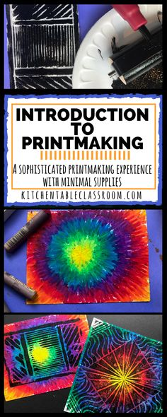 If you've been the to The Kitchen Table Classroom before you may have caught on that printmaking is just about my favorite art process. There are just so many different techniques and materials that an artist can use; each of which produce drastically different results. What I love about this particular printing process is the …