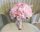 Pink Silk Bridal Bouquet