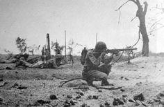 Marines on Peleliu 1944
