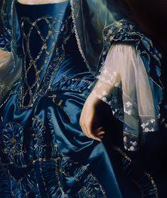 Mrs. Daniel Sargent - Detail (1763) by John Singleton Copley