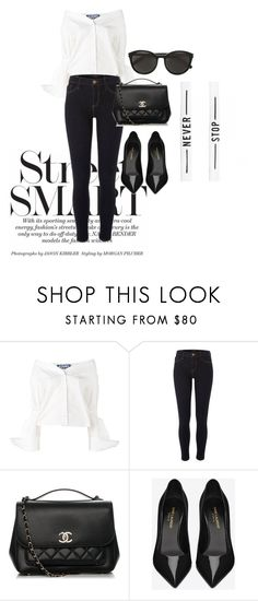"""""""Day #67"""" by andick on Polyvore featuring moda, Jacquemus, River Island, Chanel e Yves Saint Laurent"""