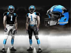 Carolina Panthers New Uniforms | on one of the NFL's great uniform challenges. The Carolina Panthers ...
