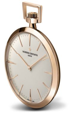 Vacheron Constantin Patrimony Contemporaine Pocket Watch in Pink Gold | https://monochrome-watches.com/vacheron-constantin-patrimony-contemporaine-pocket-watch-in-pink-gold/