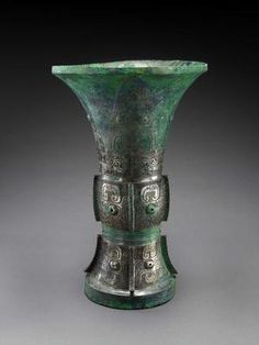 CHINESE   Ritual Vessel (Zun)   12th century B.C.   Bronze