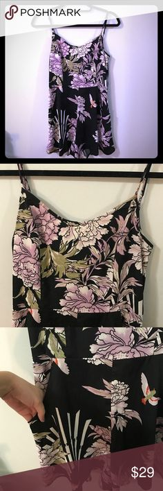 Nordstrom Floral Romper Beautiful light romper, adjustable straps, smocked back for stretch. Can fit size small as well as size medium. Band of Gypsies Other