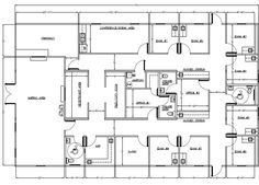 1000 images about pulmonary clinic group project on for Office design drawing samples