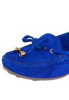 Mocassim My Shoes Laço Azul - Marca My Shoes