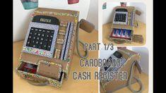 Diy cardboard cash register tutorials https://youtu.be/cIsFEVBJ3Us