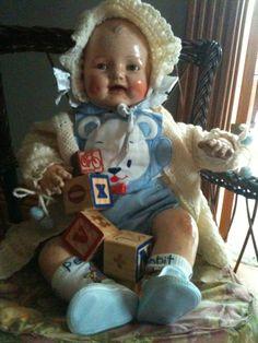 Vintage Dimples doll.