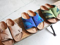 BIRKENSTOCK Zurich I need the blue pair, please.